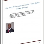 The Busy Professional's Guide To A Home Based Income